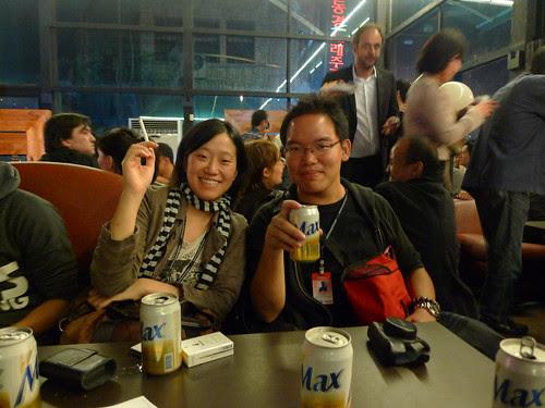 With Singapore filmmaker Kirsten Tan