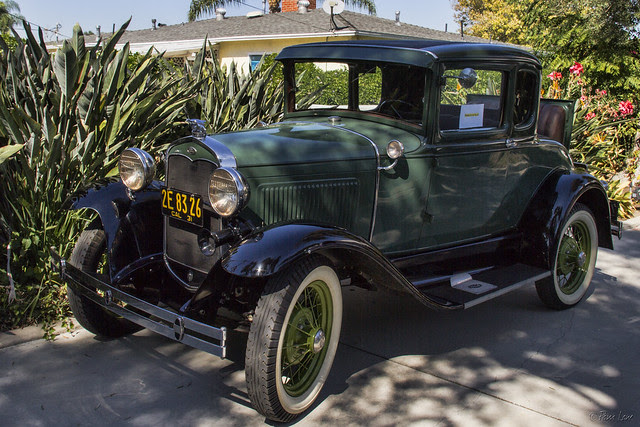 Ford Model A at Casa de Parley Johnson
