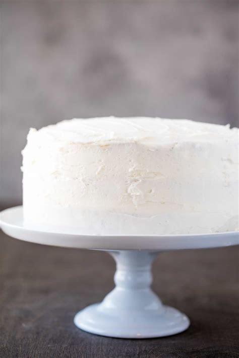 The Most Amazing White Cake