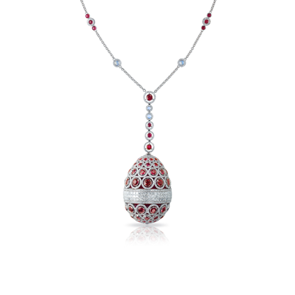 Fabergé Egg Pendant - L'Oeuf Diaghilev / The Diaghilev Egg