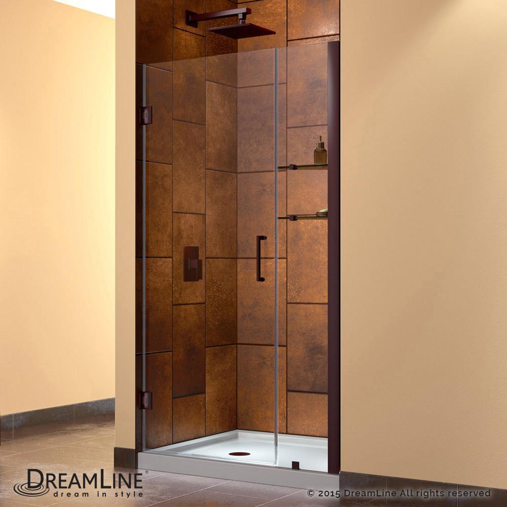 Unidoor Hinged Shower Door