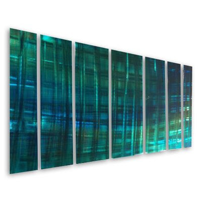 Turquoise Sculpture Wall Decor | Wayfair