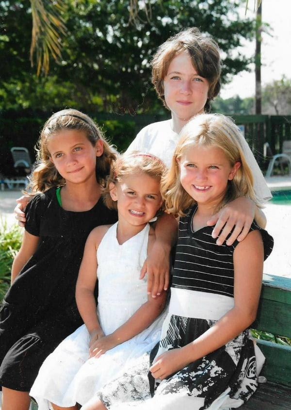 four grandchildren