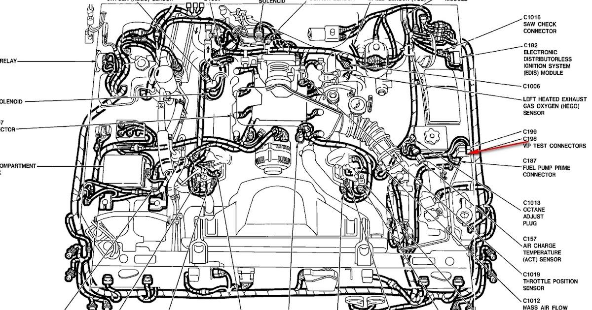 98 Mercury Grand Marqui Engine Diagram