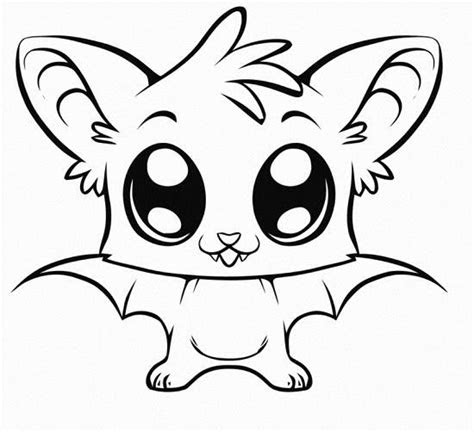 cute coloring pages  animals cute kawaii resources