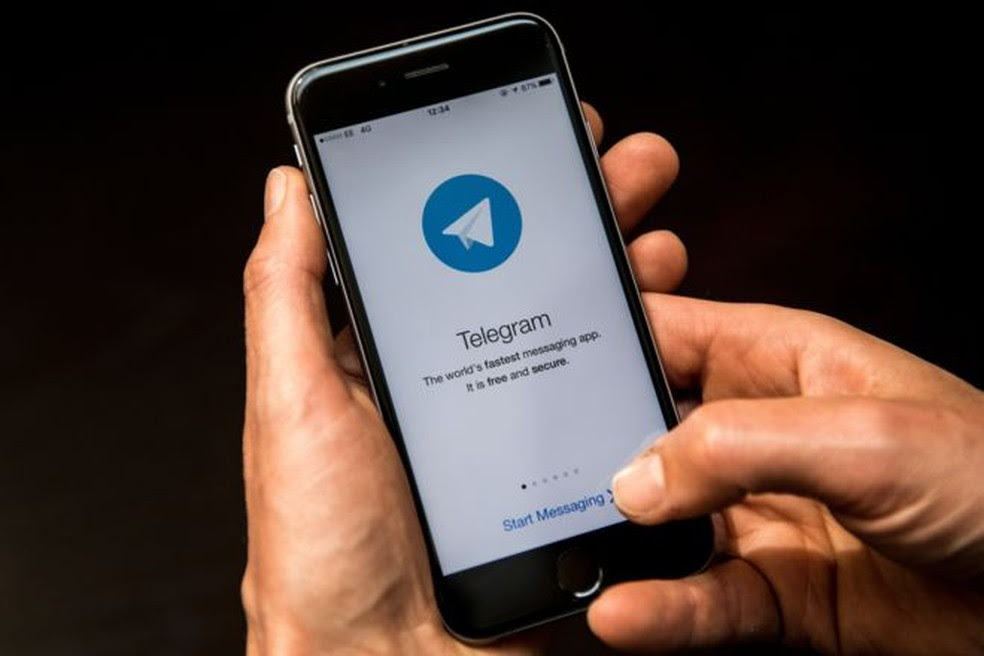 Telegram, aplicativo de mensagens. (Foto: Divulgação/Telegram)