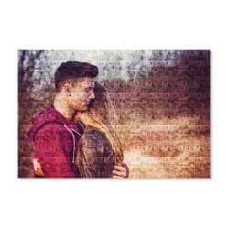 Buy Clixicle Free Customization Photo Mosaic Collage Poster With