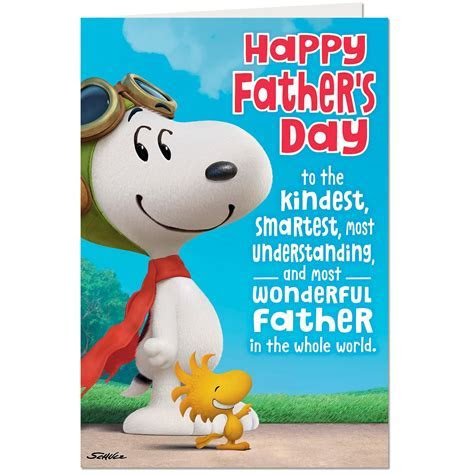 Peanuts® Snoopy Pop Up Father's Day Card From Son