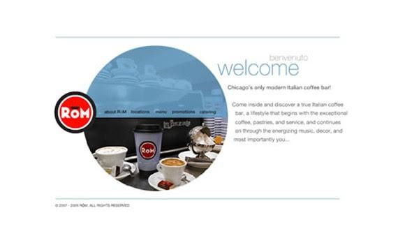 rom coffee website 30 Sitios web sobre café para inspirarte