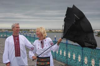 Ukrainian-British Couple: Met Online, Happily Married