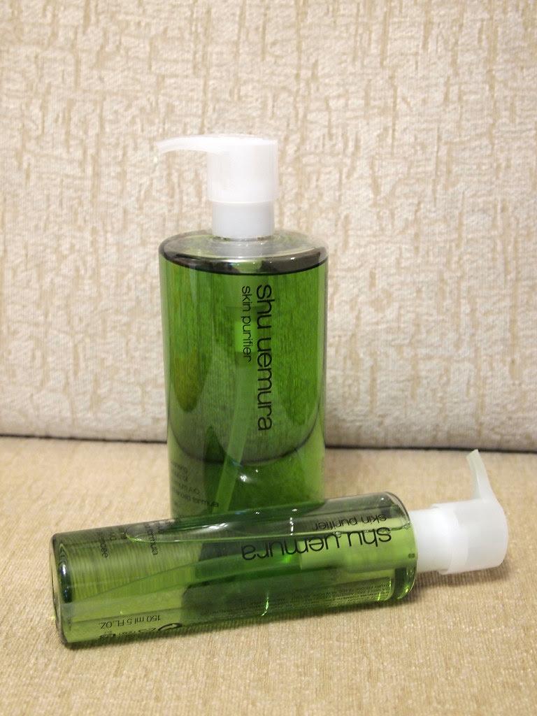 shu uemura skin purifier green tea