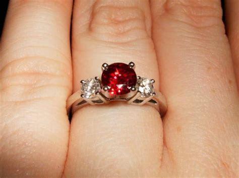 My Ruby Engagement Ring   Weddingbee Photo Gallery