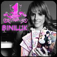 Banner Concurso Primer Aniversario BiniLuk Luka