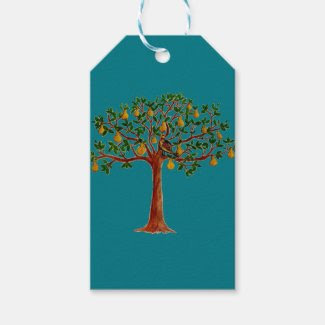 Partridge 2 in a Pear Tree Gift Tags Pack Of Gift Tags