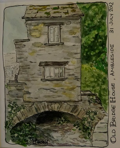 The Old Bridge House in Ambleside