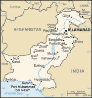 CIA map of Pakistan