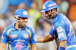 IPL 2015: Rohit Sharma and Kieron Pollard power Mumbai Indians to 183/7