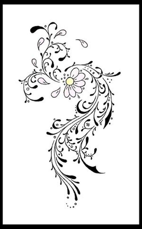 Tribal Flower Tattoo Image 2 Tattoos Book 65000 Tattoos Designs