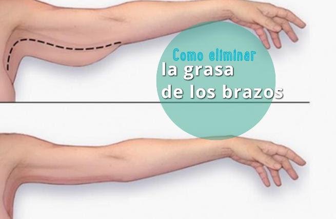 eliminar grasa de los brazos