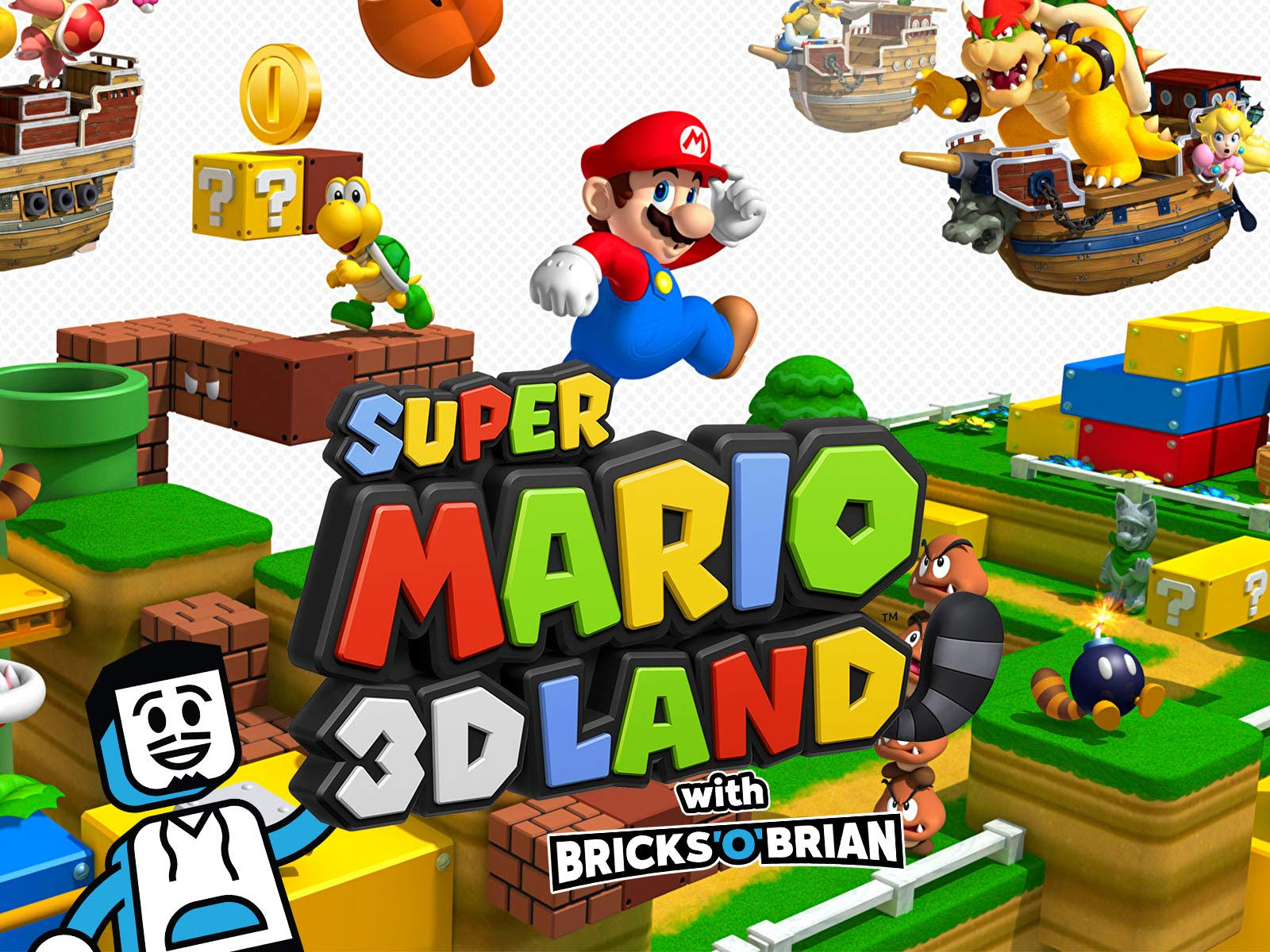 Watch Clip Super Mario 3d Land With Bricks O Brian On Amazon