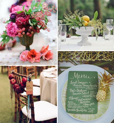 Fruity & Fabulous: Fruit Wedding Decoration Ideas