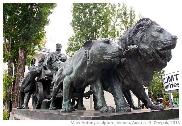 Mark Antony sculpture, Vienna, Austria - S. Deepak, 2013