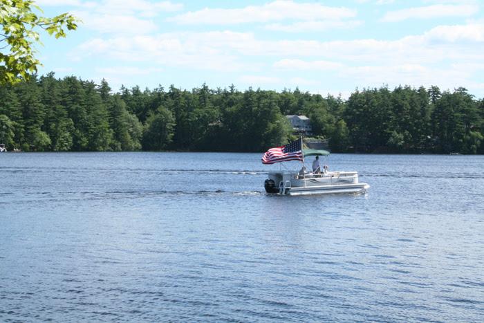 Boat on Forge Pond