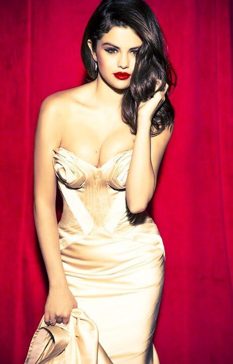 Selena Gomez the Scene Glamour Magazine