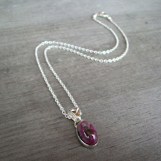 tourmaline necklace
