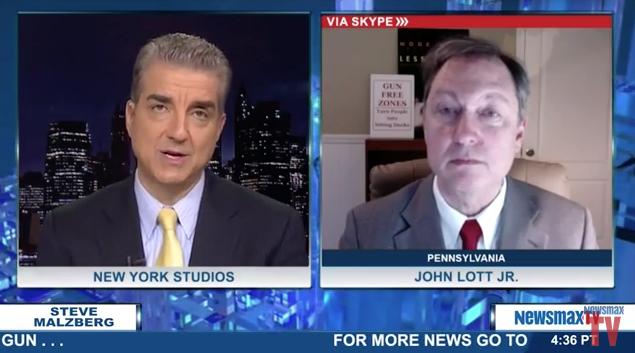 Steve Malzberg Lott NewsMax TV