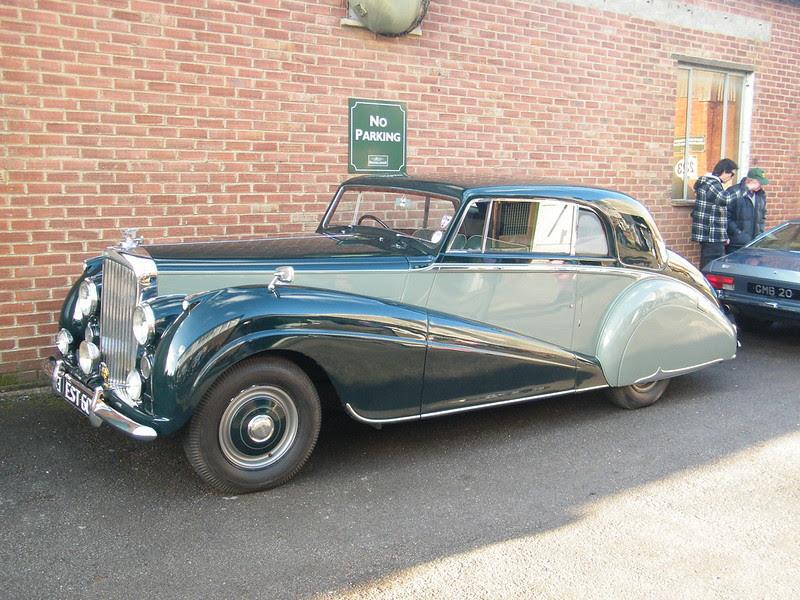Brooklands New Year's Day 2013 - 1950s Bentley (type ?)