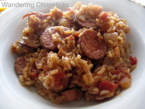 Creole Red Jambalaya with Chicken and Sausage 10