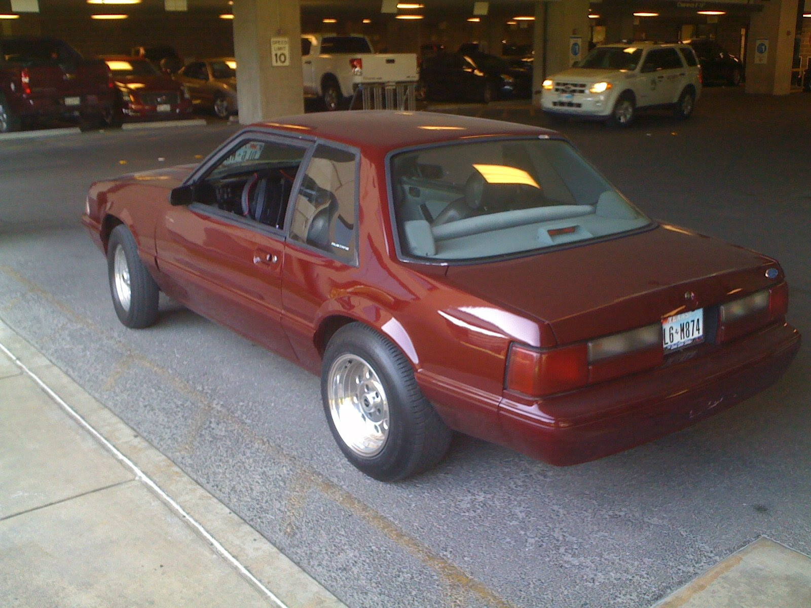 Anyone Else Running Welds On Their Fox Body Ford Mustang Forum