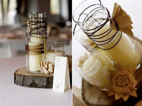 DIY Wedding Centerpieces   Rustic Wedding   Thoughtfully