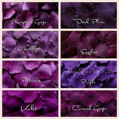 purple rose petals   shades purple silk rose petals