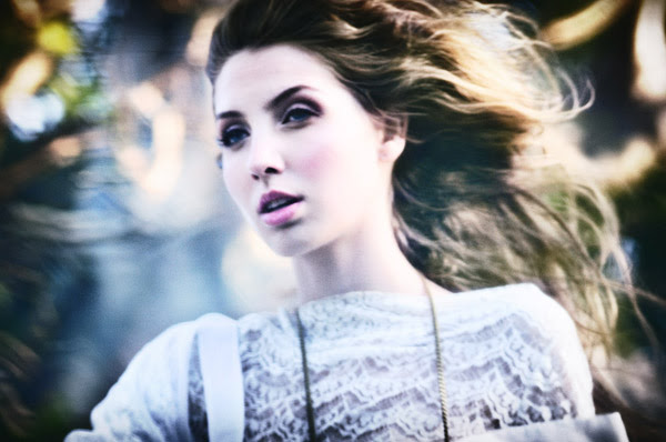 Awakening from the dream, Alice's Dreamtime; Winter Fashion Editorial