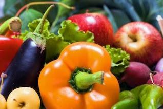 verduras comida fresca