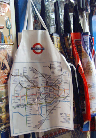 London Underground Map Apron