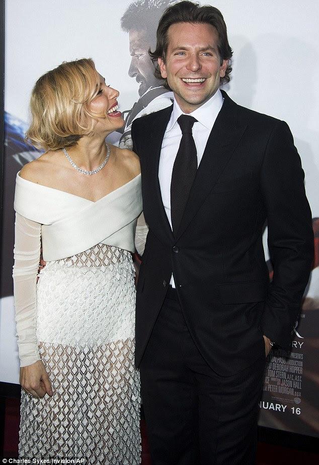 Ekran ilişkisi: Bradley Cooper Chris Kyle, kimin becerileri Sienna karısını oynadı görev dört turları sırasında 150'den fazla teyit öldürür ile ona Irak'ta bir kahraman yapılan Navy SEAL keskin tetikçi olarak rol aldı