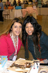 Me and the amazing Traci, our signing!