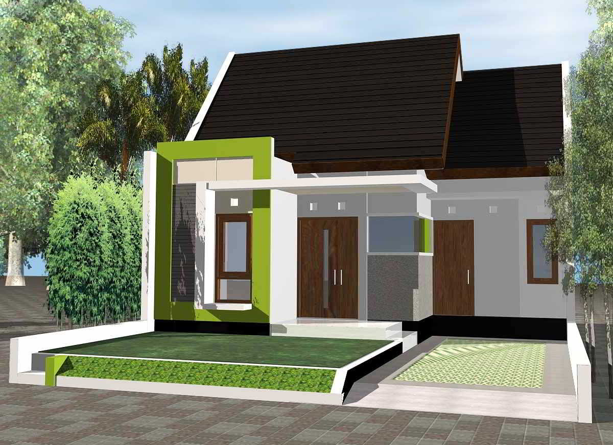 Contoh Model Rumah Minimalis Terbaru  8 Desain  Rumah