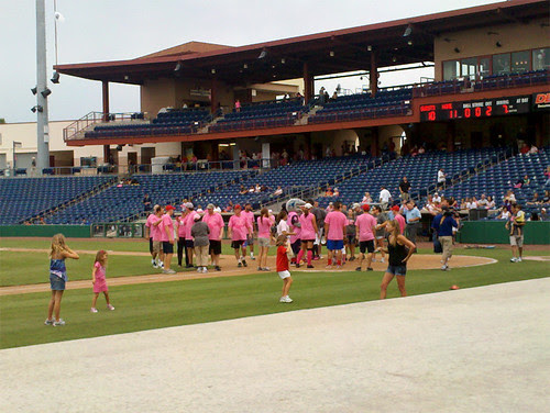 Media Personalities and Professional Athletes at the Pitch For Pink Event on July 22, 2011 by AnswerFirst
