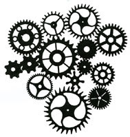 Cogs Stamp