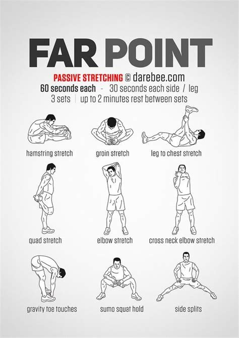 Farpoint Workout: Passive Stretching | Flexibility workout