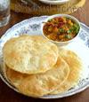 Punjabi Chole Bhature-Chana Bhatura