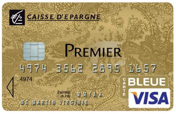 Carte Bleue Premier Caisse Epargne