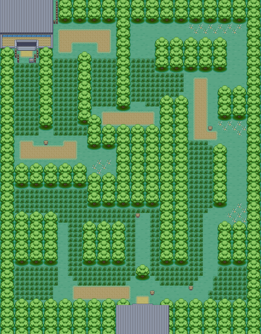 Pokemon Fire Red Viridian Forest Map  www.galleryhip.com