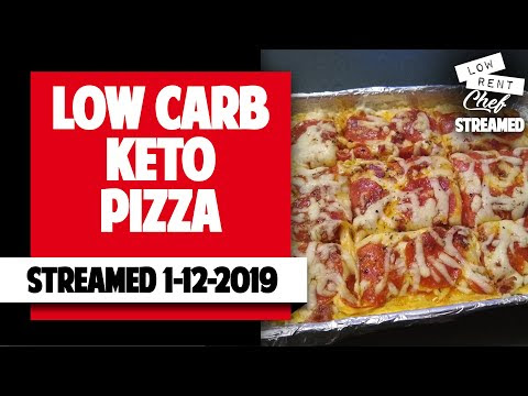 LRC LIVESTREAM - LOW CARB PIZZA