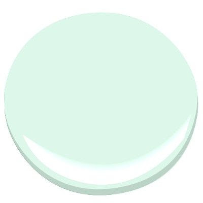Benjamin Moore Paint - Fresh Mint
