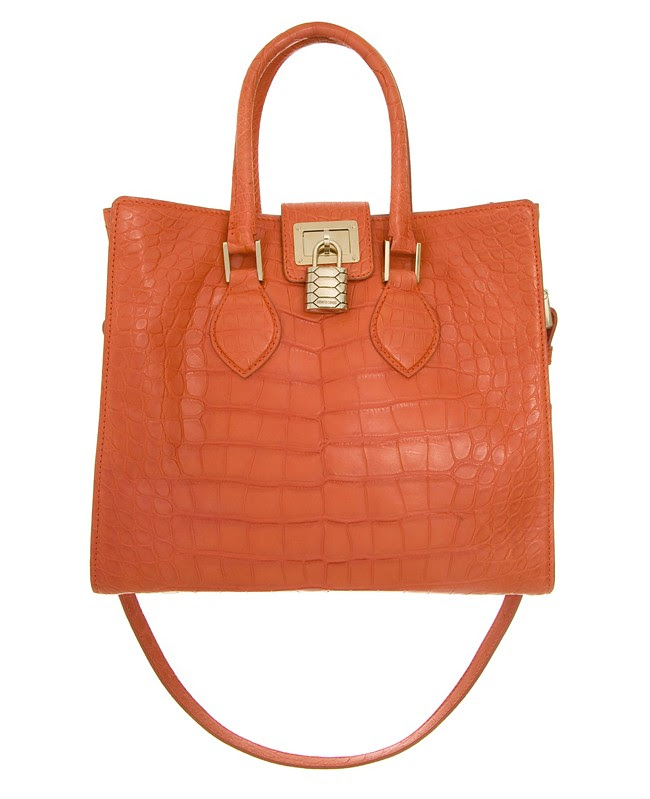 Roberto Cavalli 'Florence' Bag - crocodile leather